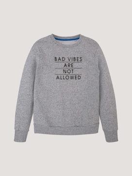 Sweatshirt mit Applikation - 7 - TOM TAILOR