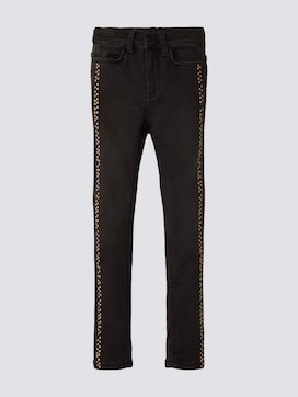 Jeans with a polka dot trim - 7 - TOM TAILOR
