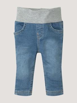 Jeanshose mit elastischem Jersey Bund - 7 - TOM TAILOR