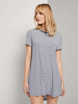 Striped nightgown - 1 - TOM TAILOR