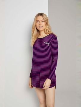 Gestreiftes Pyjama Kleid - 1 - TOM TAILOR
