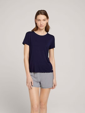 Maritimes Pyjama-Set mit Shorts - 1 - TOM TAILOR
