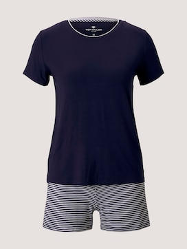 Maritimes Pyjama-Set mit Shorts - 7 - TOM TAILOR