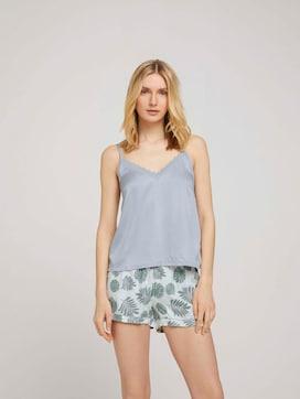 Spitzen Pyjama-Set mit Shorts - 1 - TOM TAILOR