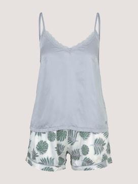 Spitzen Pyjama-Set mit Shorts - 7 - TOM TAILOR