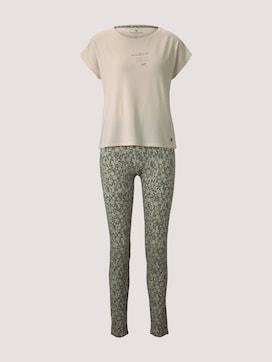 Langes Pyjama-Set - 7 - TOM TAILOR