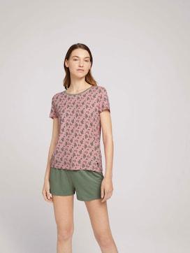 Pyjama met bloemenpatroon - 1 - TOM TAILOR