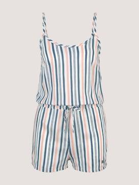 Gestreifter Pyjama Jumpsuit - 7 - TOM TAILOR