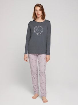 Pyjama Set mit Print - 1 - TOM TAILOR