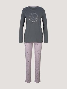 Pyjama Set mit Print - 7 - TOM TAILOR