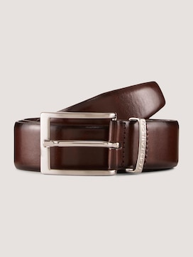 Leather belt with a narrow buckle - 7 - TOM TAILOR