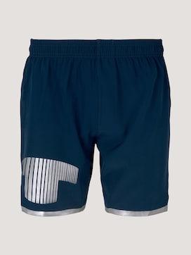 Funktions Shorts mit Logo Print - 7 - TOM TAILOR