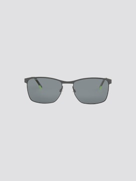 Wayfarer sunglasses with a metal frame - 7 - TOM TAILOR