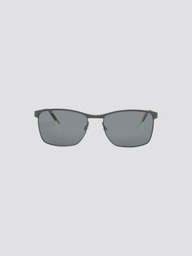 Wayfarer zonnebril met metalen frame - 7 - TOM TAILOR