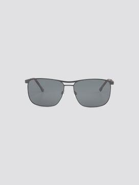 Verspiegelte Wayfarer Sonnenbrille mit Federscharnier - 7 - TOM TAILOR