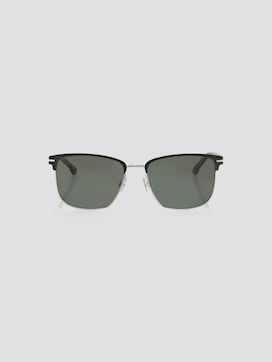 Rechthoekige zonnebril met metalen bandjes - 7 - TOM TAILOR