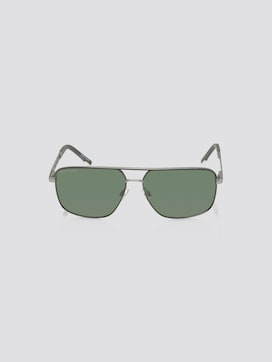 Mirrored pilot sunglasses with spring hinges - 7 - TOM TAILOR