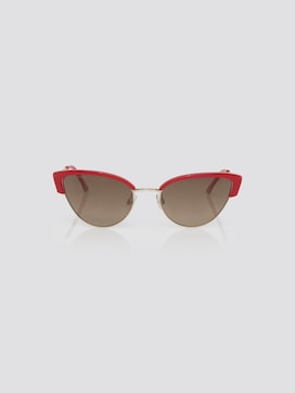 Cat eye sunglasses with a coloured frame - 7 - TOM TAILOR