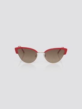 Cat-Eye Sonnenbrille mit farbigem Rahmen - 7 - TOM TAILOR