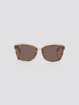 Wayfarer Sonnebrille mit breitem Rahmen - 7 - TOM TAILOR