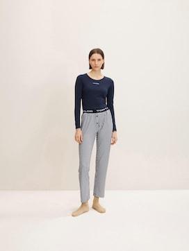 Streepte Pyjama Broek - 1 - TOM TAILOR