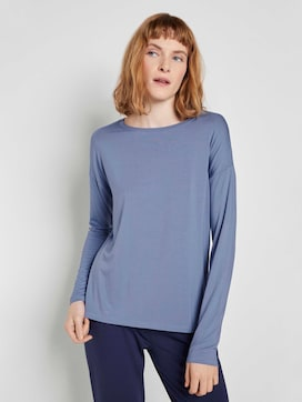 Long-sleeved nightgown - 1 - TOM TAILOR