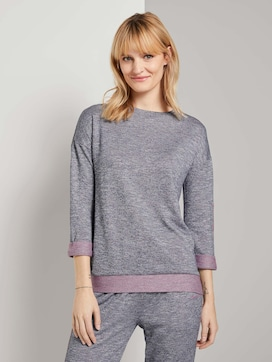 Pyjama Sweatshirt - 1 - TOM TAILOR