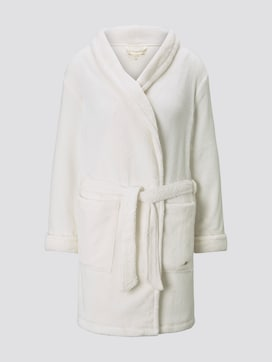 Winter plush bathrobe - 7 - TOM TAILOR