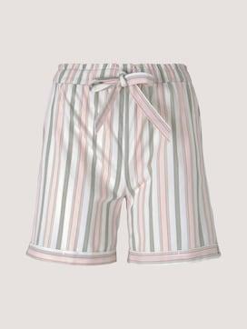 Pyjama-Shorts mit Streifen - 7 - TOM TAILOR