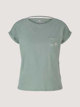Pyjama Shirt mit Print - 7 - TOM TAILOR