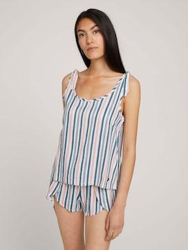 Pyjama Top mit Knotendetail - 1 - TOM TAILOR