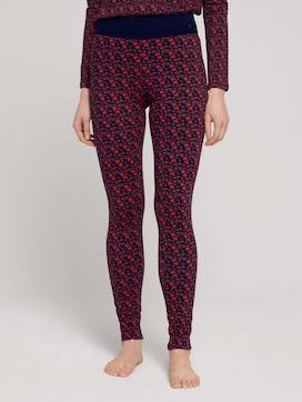 Pyjama Leggings mit Print - 1 - TOM TAILOR