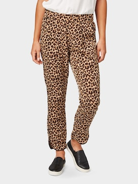 Loose fit trousers, ankle-length - 1 - TOM TAILOR