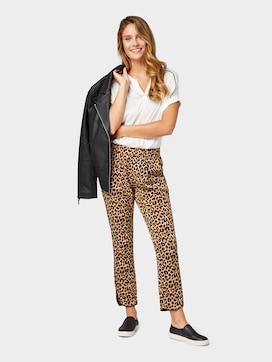 Loose fit trousers, ankle-length - 3 - TOM TAILOR