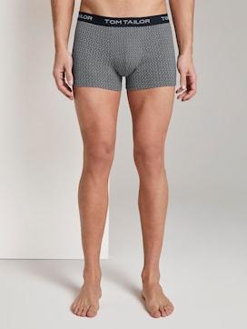 Gemusterte Hip-Pants - 1 - TOM TAILOR