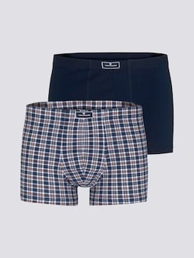 Checked hip pants in a twin pack - 7 - TOM TAILOR