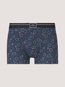 Gemusterte Hip-Pants aus Modal - 7 - TOM TAILOR