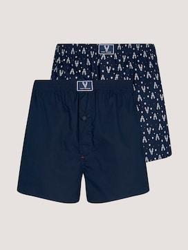 Rendier Boxer Shorts in dubbelpak - 7 - TOM TAILOR