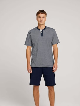 shorty 2-button placket - 1 - TOM TAILOR