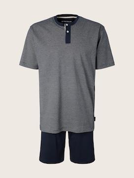 Pyjama mit karierter Hose - 7 - TOM TAILOR