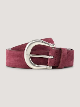 Suede leather belt - 7 - TOM TAILOR