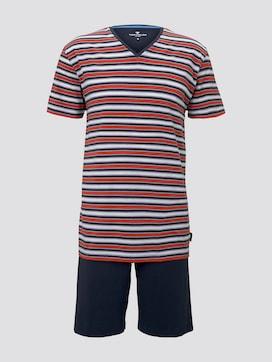 Gestreifter Pyjama - 7 - TOM TAILOR