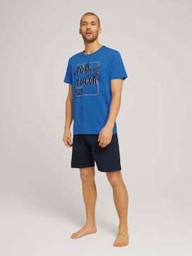 Print Pyjama-Set mit Shorts - 1 - TOM TAILOR