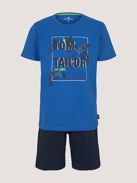 Print Pyjama-Set mit Shorts - 7 - TOM TAILOR