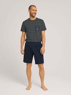 Palmen Print Pyjama-Set - 1 - TOM TAILOR