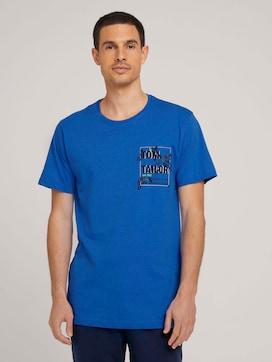 Pyjama Shirt mit Brusttasche - 1 - TOM TAILOR