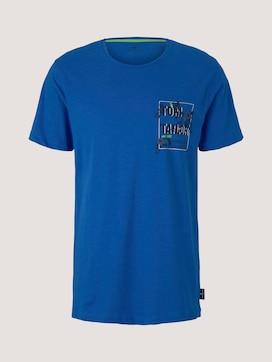 Pyjama Shirt mit Brusttasche - 7 - TOM TAILOR