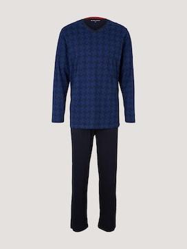 Langärmliges Pyjama Set mit Muster  - 7 - TOM TAILOR