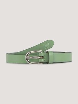 Slim leather belt - 7 - TOM TAILOR Denim
