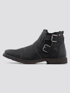 Chelsea-Boots mit Schnallen - 7 - TOM TAILOR